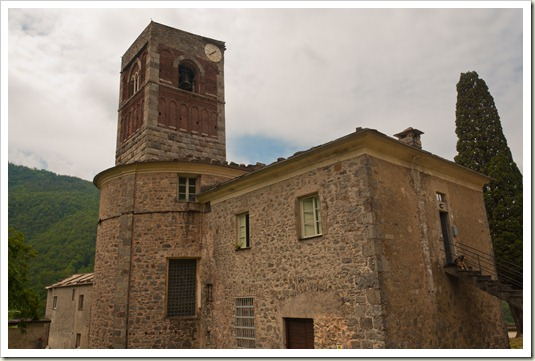 Abbazia di Sant'Andrea - campanile Borzone