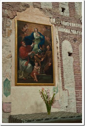 Abbazia di Sant'Andrea - interno Borzone 2