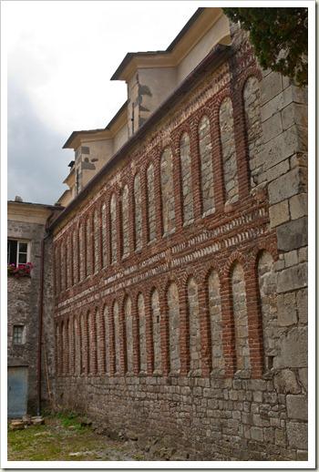 Abbazia di Sant'Andrea - lato ovest Borzone