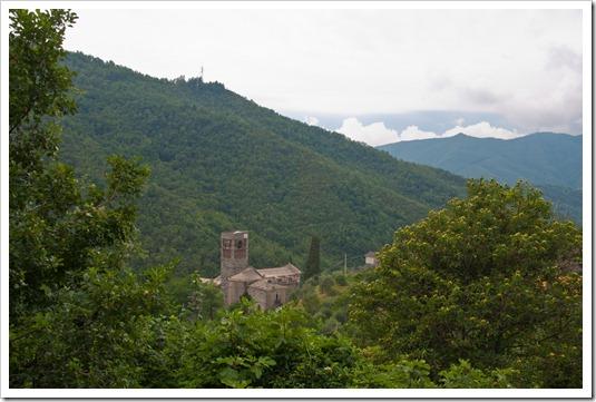 Abbazia di Sant'Andrea - panoramica Borzone