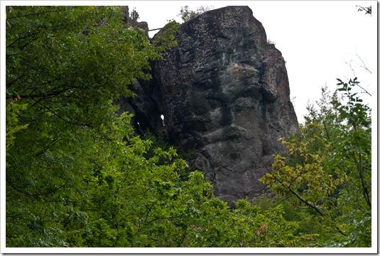 il volto megalitico 1