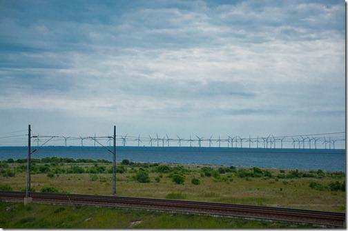 Il Parco eolico marino nell'Oresund - Danimarca