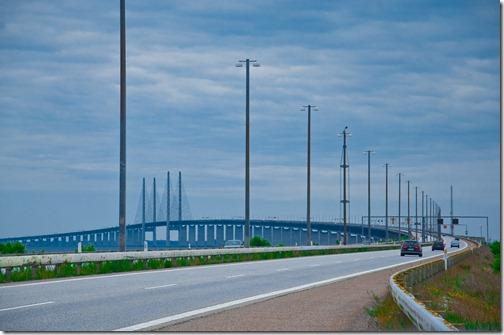 Il Ponte dell'Oresund collega Danimarca e Svezia