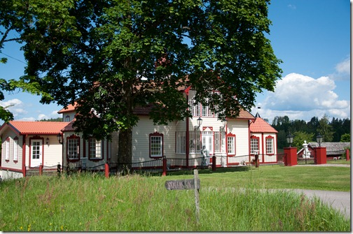 Le bianche e vivaci case svedesi