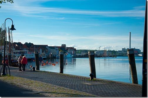 Passegiata sul Porto di Flensburg - Germania