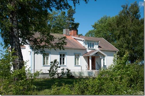 bianche e vivaci case svedesi