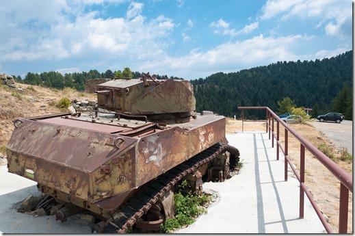 Cabanne Vieilles - resti di carro armato Stuart del 1940