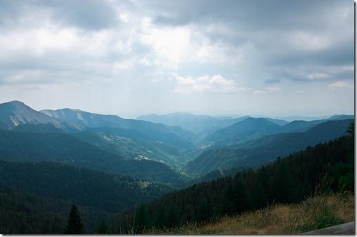 Parco del Mercantour - salita verso il Col de Turini