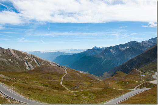 Alpi Cozie sulla strada per col dell Agnello
